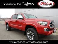 2017 Toyota Tacoma Limited V6 Nav Bluetooth Backup Cam Sunroof Heated Seats Rochester MN