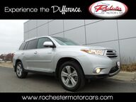 2013 Toyota Highlander Limited Nav DVD Bluetooth Backup Cam Sunroof Heated Seats Rochester MN