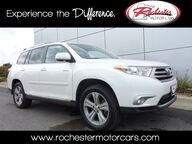 2013 Toyota Highlander Limited AWD Nav Leather Sunroof Backup Cam Bluetooth Rochester MN