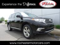 2013 Toyota Highlander Limited AWD Navigation Backup Cam Sunroof Bluetooth USB AU Rochester MN