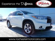 2015 Toyota Highlander Limited Platinum V6 AWD Nav Bluetooth Backup Cam Sunroof Heated Seats Rochester MN