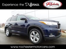 2015 Toyota Highlander Limited AWD Nav Bluetooth Backup Cam Heated Seats Rochester MN