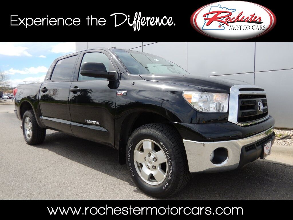 2011 Toyota Tundra Grade 4wd Trd Off Road Package Bluetooth Snow Plow Se Rochester Mn 13316762
