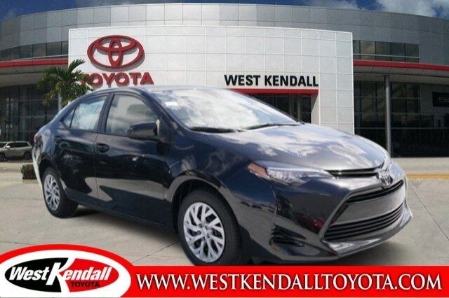 2017 toyota corolla le for sale west kendall toyota in