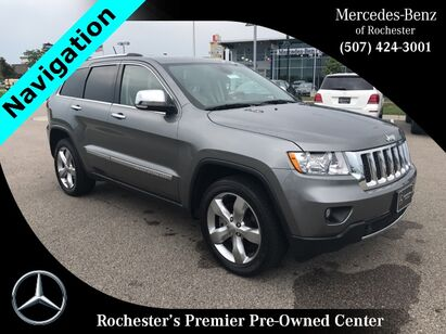 2013 Jeep Grand Cherokee Overland w/  Heated Front and Rear Seats Rochester MN