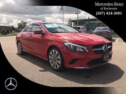 2018 Mercedes-Benz CLA 250 4MATIC® COUPE Rochester MN