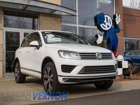 2017 Volkswagen Touareg V6 4Motion Vernon CT