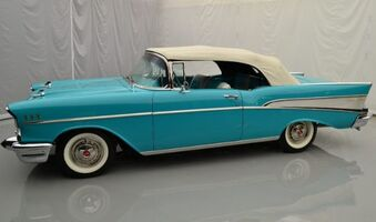 1957 Chevrolet Convertible 2dr Bel-Air Convertible Hickory NC
