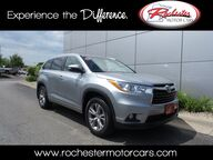 2014 Toyota Highlander XLE V6 AWD Leather Sunroof Backup Cam Bluetooth Rochester MN