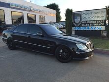 Mercedes-Benz S55 AMG V8 SUPERCHARGED 493 HP NAVIGATION, KEYLESS GO! HEATED/COOLED SEATS !!! LOADED!!! 2003