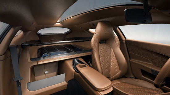interior of aston martin shooting brake
