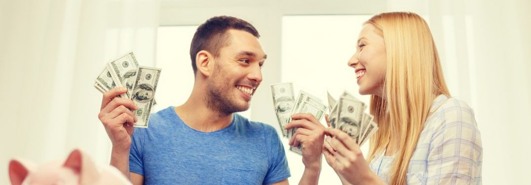 Paying a down payment on a pre-owned vehicle