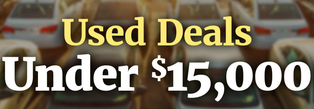 Check out the Deals Under $15,000 at Royal Automotive!