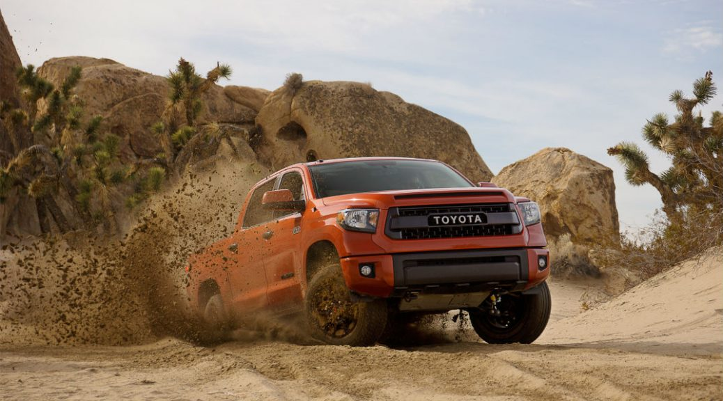 2015 Toyota TRD Vehicles