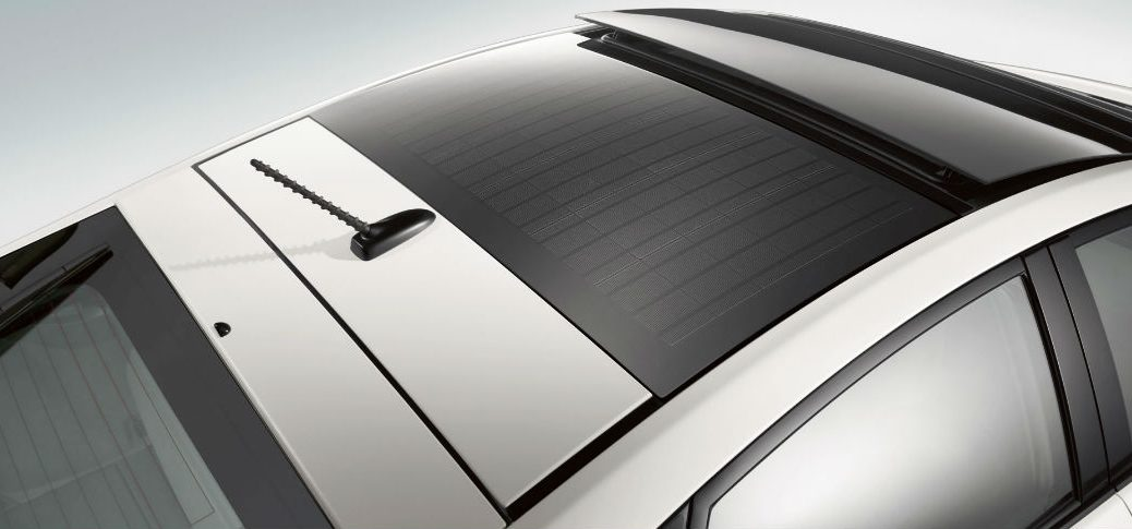 2015 Toyota Prius Solar Panel Roof Feature at Gale Toyota