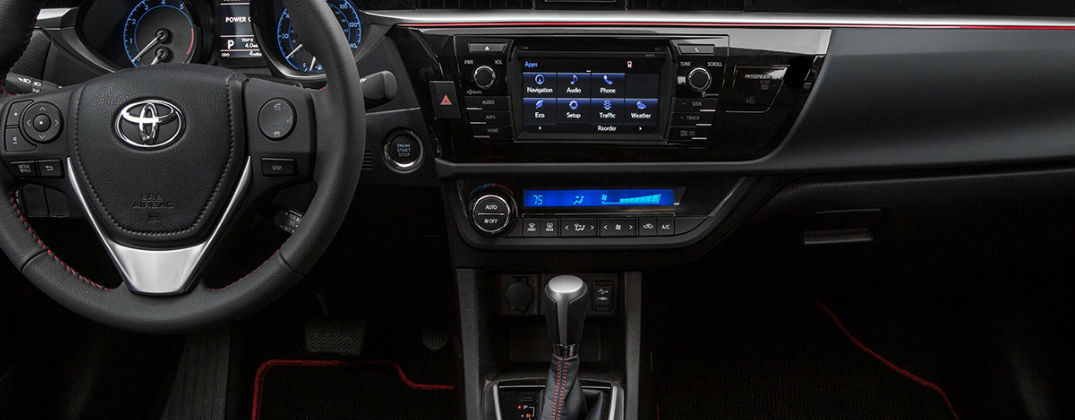 How Much Will Toyota Camry and Corolla Special Editions Cost? at Gale toyota-New Toyota Dealer-Enfield CT-Hartford CT-Springfield MA-2016 Toyota Corolla Special edition Red Accent Interior
