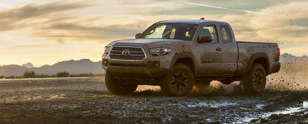 Benefits of the 2016 Toyota Tacoma Atkinson Cycle Engine at Gale Toyota-Enfield CT-Springfield MA-Hartford CT-New Toyota Dealer-Toyota Technology-Toyota Atkinson Cycle Engine-2016 Toyota Tacoma Side Exterior