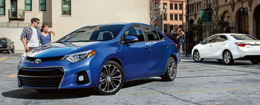 What's New for the 2016 Toyota Corolla at Gale Toyota-Enfield CT-Blue 2016 Toyota Corolla Exterior