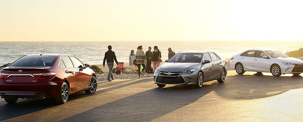 Toyota Brand Tops Consumer Reports Reliability Survey at Gale Toyota-Enfield CT-Toyota Camry Models at the Beach