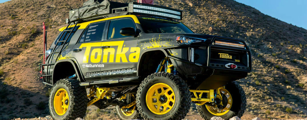 Thrilling Concepts Highlight the Toyota Display at 2015 SEMA Show in Las Vegas