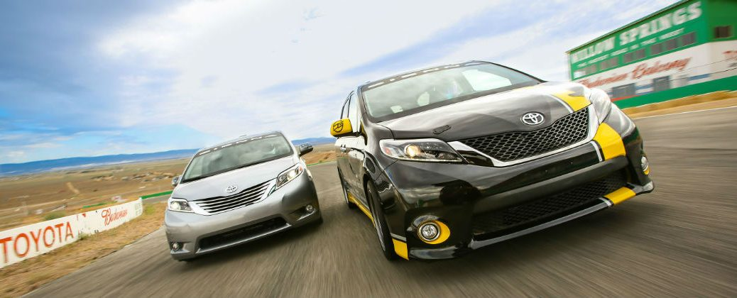 Track-Tuned Toyota Sienna R-Line Performance Specs at Gale Toyota-Enfield CT-Toyota Sienna R-Line on the Track