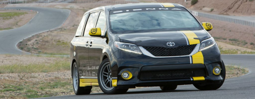 Track-Tuned Toyota Sienna R-Line Performance Specs at Gale Toyota-Enfield CT-Toyota Sienna R-Line Front Exterior