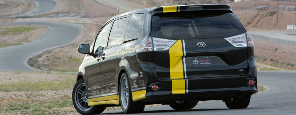 Track-Tuned Toyota Sienna R-Line Performance Specs at Gale Toyota-Enfield CT-Toyota Sienna R-Line Rear Exterior