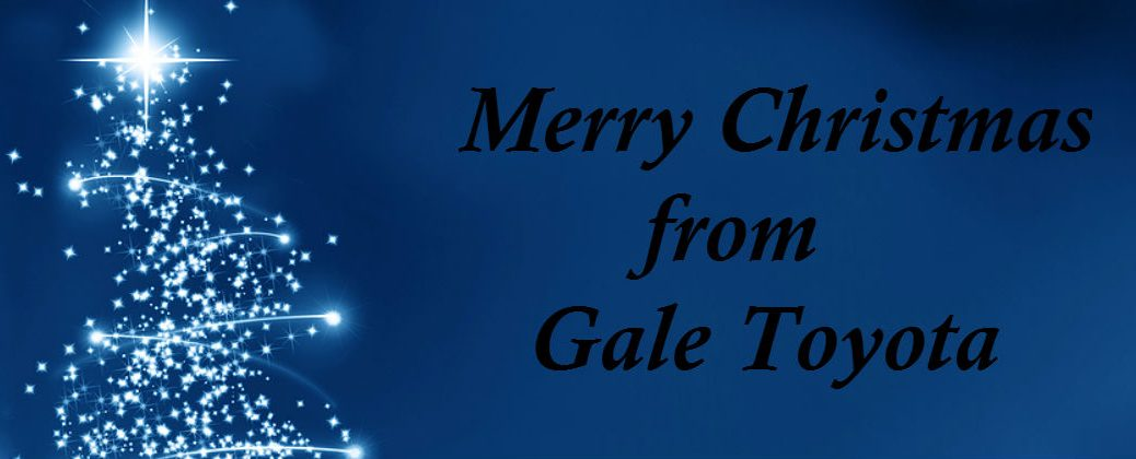 Things to Do for Christmas Enfield CT at Gale Toyota-Merry Christmas Banner