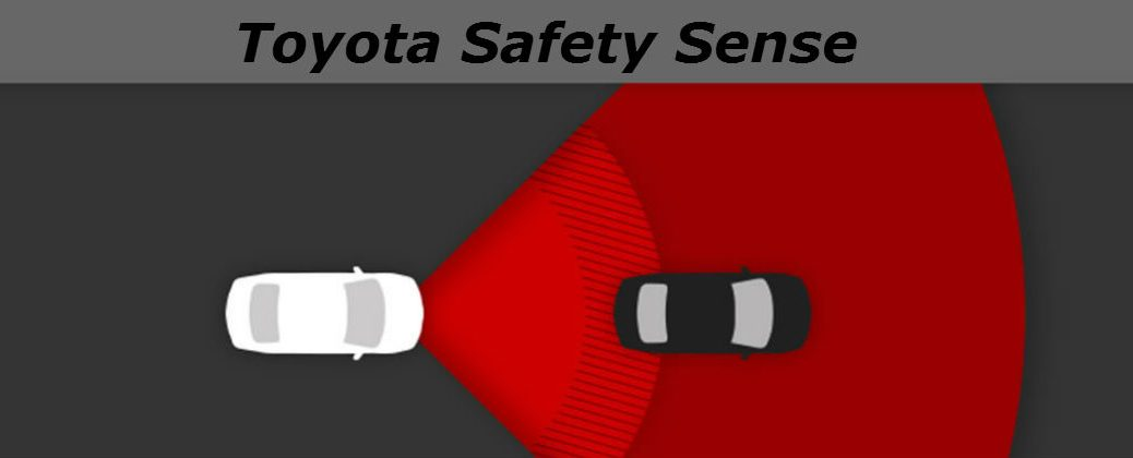 How Toyota Safety Sense Works at Gale Toyota-Enfield CT-Toyota Safety Sense Pre-Collision System Diagram