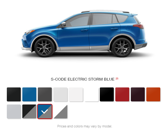 New Color Options For The 2016 Toyota Rav4 At Gale Enfield Ct