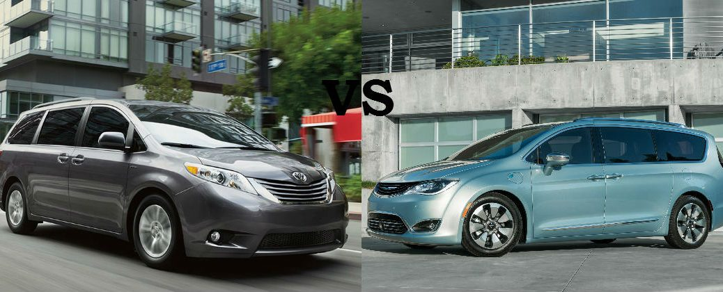2016 Toyota Sienna vs 2017 Chrysler Pacifica at Gale Toyota-Enfield CT-Toyota Sienna and Chrysler Pacifica Comparison