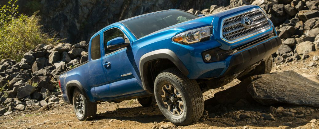 2016 Toyota Tacoma TRD Off Road Trim Features at Gale Toyota-Enfield CT-Blue 2016 Toyota Tacoma TRD Off Road Exterior