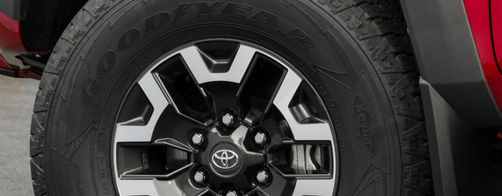 2016 Toyota Tacoma TRD Off Road Trim Features at Gale Toyota-Enfield CT-Toyota Tacoma TRD Off Road Wheels and Tires
