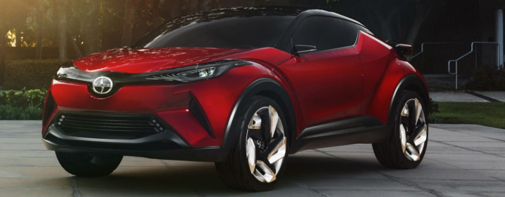 Which Scion Models Will Join the Toyota Brand at Gale Toyota-Enfield CT-Red Scion C-HR Concept