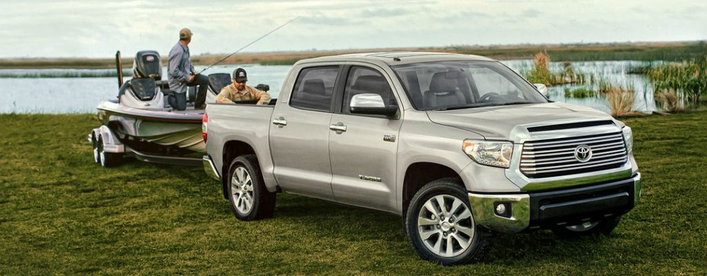 Official 2016 Toyota Tundra Towing and Payload Specs at Gale Toyota-Enfield CT-2016 Toyota Tundra Towing a Boat