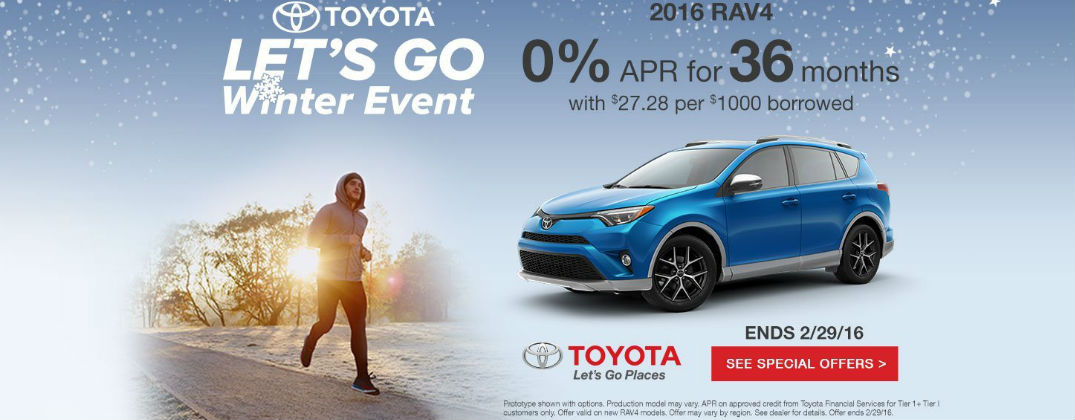 Save On a New Toyota This Winter at the Let's Go Winter Sales Event at Gale Toyota