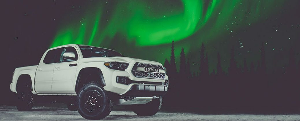 2017 Toyota Tacoma TRD Pro Performance Specs at Gale Toyota-Enfield CT-Super White 2017 Toyota Tacoma TRD Pro with Northern Lights