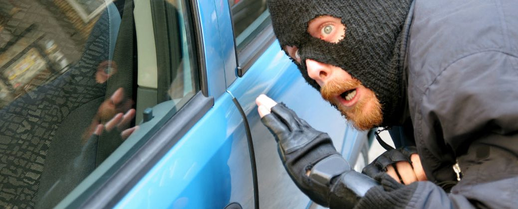 What is a Toyota Engine Immobilizer at Gale Toyota-Enfield CT-Surprised Car Thief by Blue Car