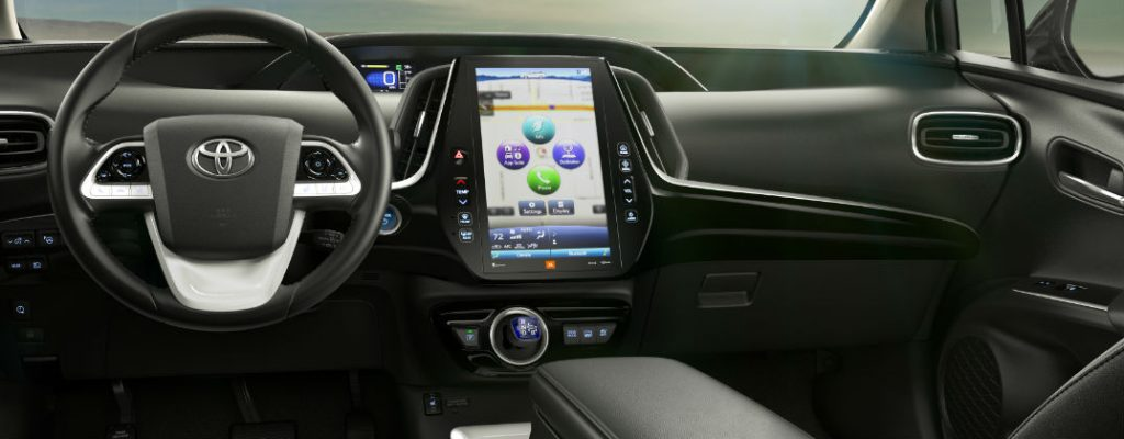 2017 Toyota Prius Prime Release Date and Features at Gale Toyota-Enfield CT-2017 Toyota Prius Prime HD Tablet Touchscreen Display