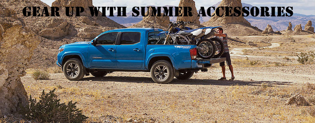 Get Your New Toyota Tacoma Ready for Summer with These Accessories
