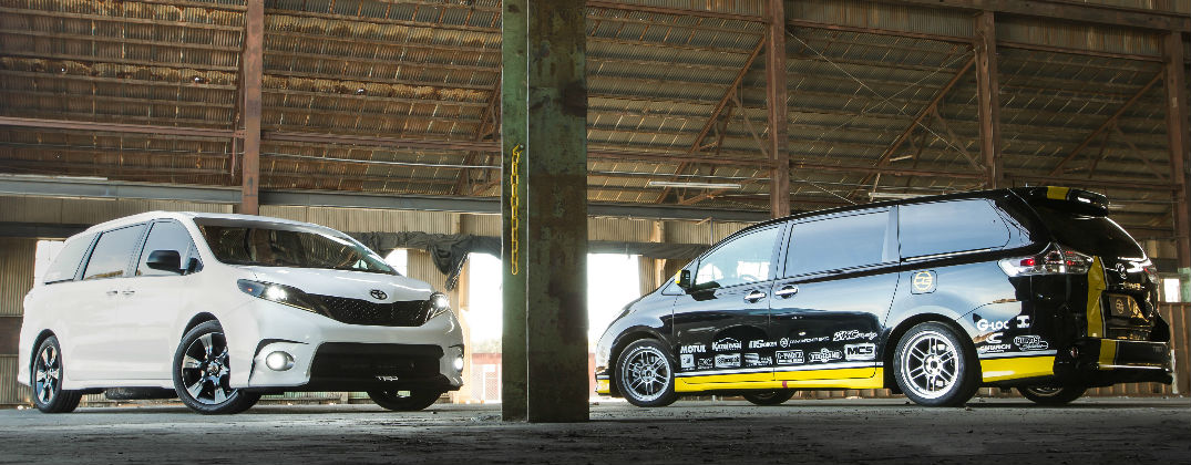 Track-Tuned Toyota Sienna Will Race in 2016 One Lap of America