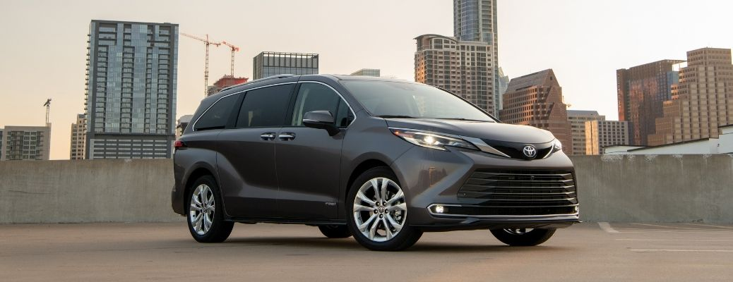 Get a peek inside the new Toyota Sienna minivan