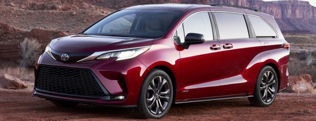 Comparing the 2021 Toyota Sienna to the 2021 Honda Odyssey