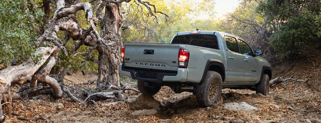A photo of the 2022 Toyota Tacoma Trail Edition 4x4.