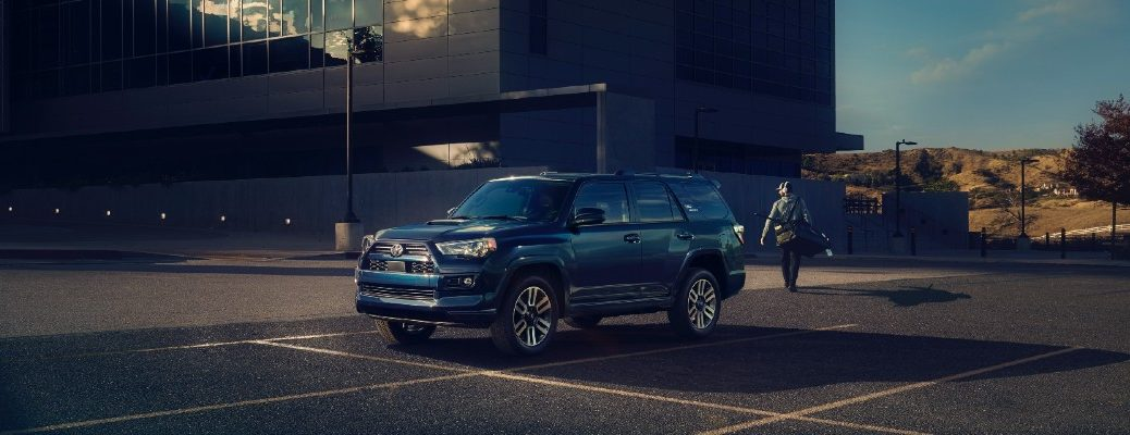 The 2022 Toyota 4Runner in a parking lot.