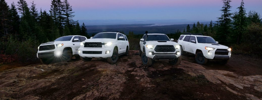 Family of 2020 Toyota TRD vehicles