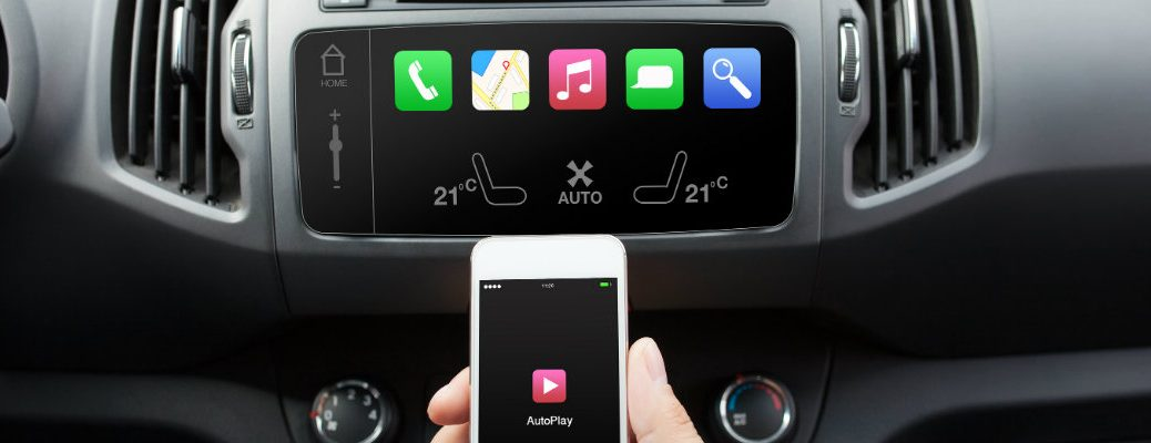 Phone pairing with a car