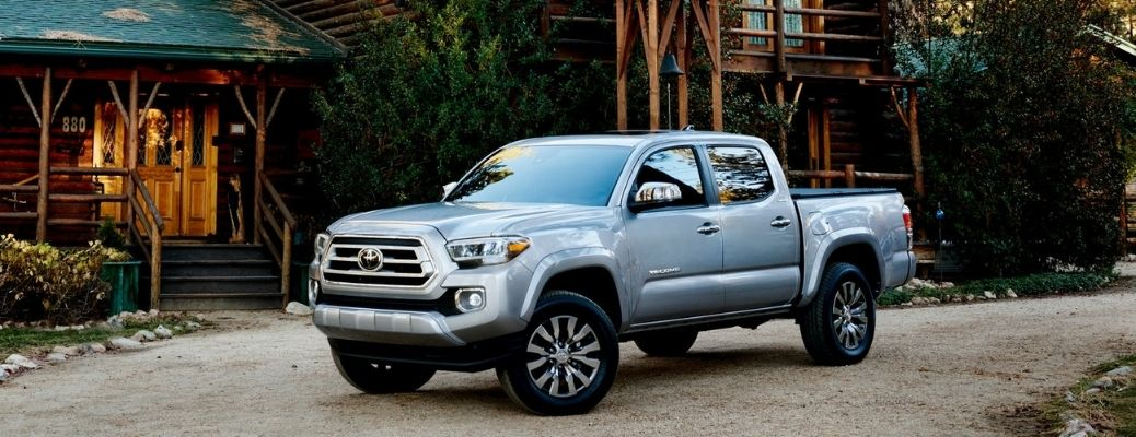 2021 Toyota Tacoma parked exterior front view