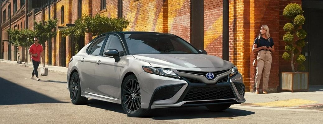 2022 Toyota Camry side and front view