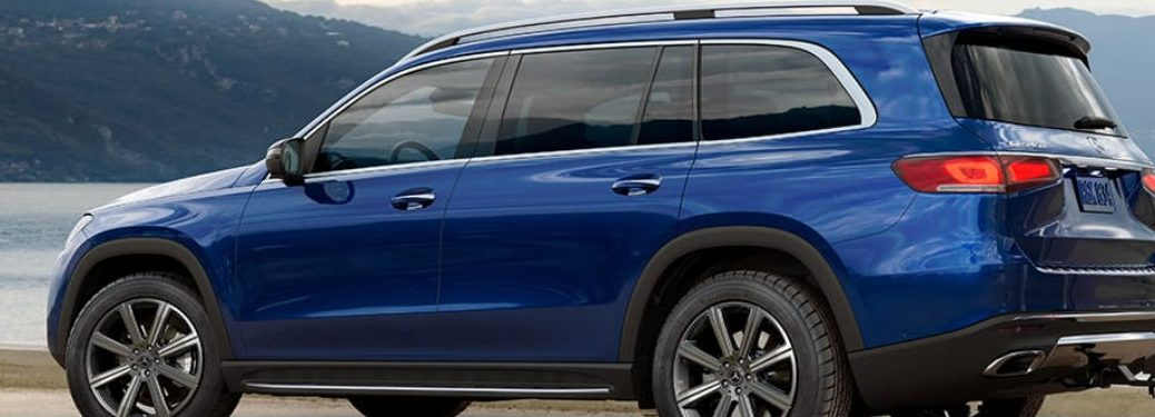 2021 Mercedes-Benz GLS in blue